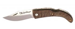 """Couteau de Berger """"U Tempu"""" Bois d'Oliver"""