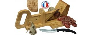 Guillotine à Saucisson La montagnarde, Couteau à pain Offert