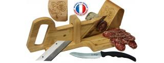 Le Berger, Guillotine, Trancheuse à Saucisson La montagnarde, Lame de rechange & couteau à pain Offert