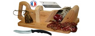 Guillotine à Saucisson Traditionnelle Couteau à Pain & Lame de Rechange Offerte