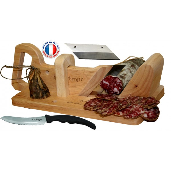 Guillotine saucisson traditionnelle couteau pain - Guillotine a saucisson magasin ...