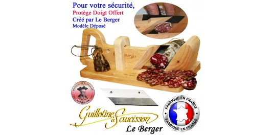 Guillotine à Saucisson Traditionnelle et Lame de Rechange Offerte