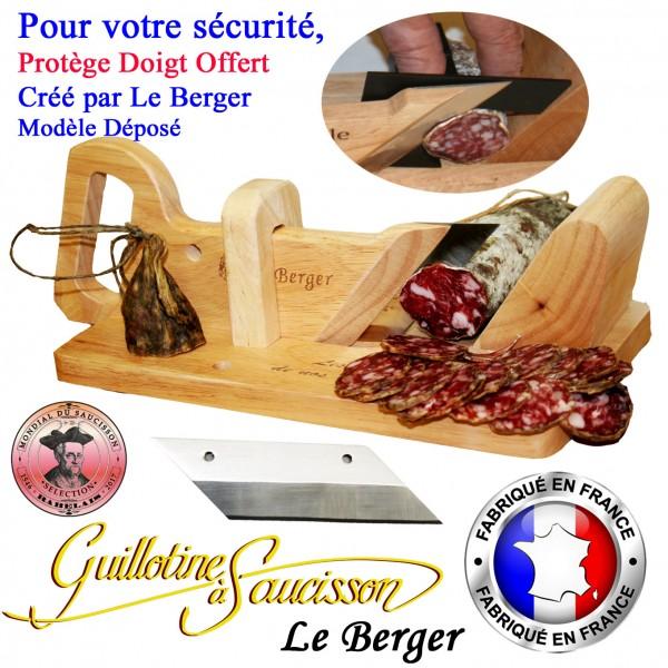guillotine saucisson traditionnelle securite protege. Black Bedroom Furniture Sets. Home Design Ideas