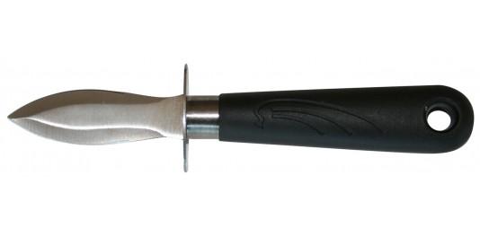 Couteau à Huître avec Garde de protection Inox