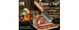 Guillotine à saucisson Toque Chef by Le Berger Trancheuses Universelle, AFFUTEUR INTEGRE